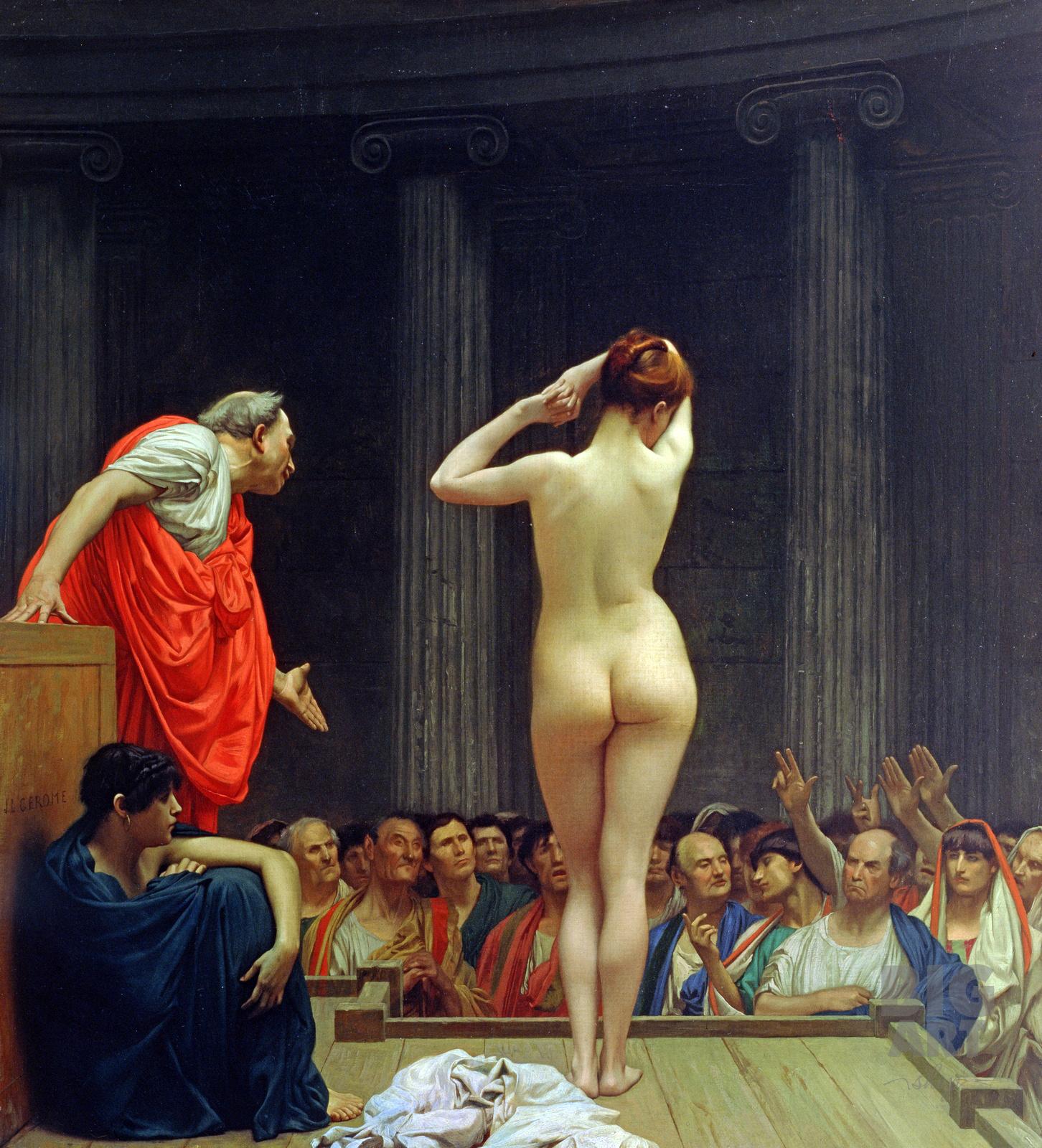 Римский рынок рабов