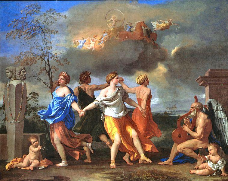 Николя Пуссен / «Танец под музыку времени» / 1636
