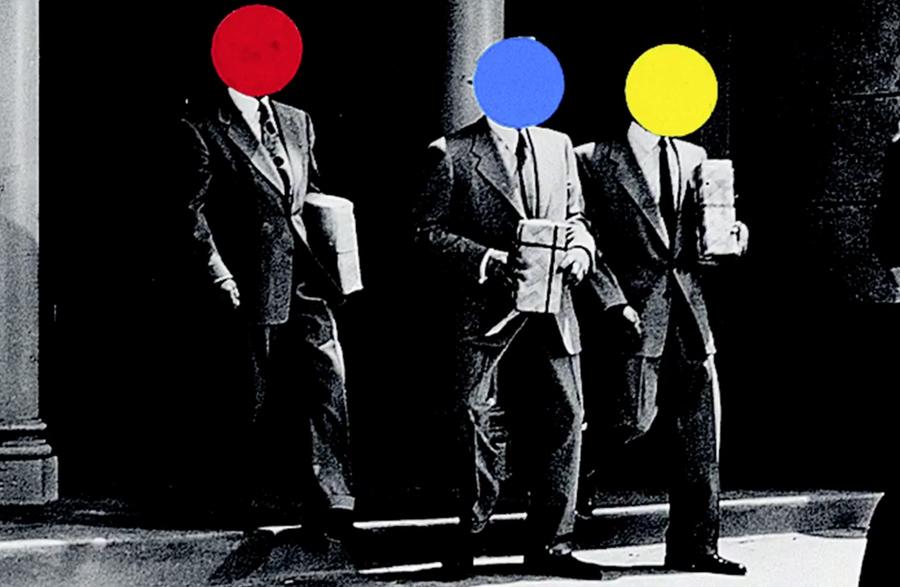 художник Джон БАЛДЕССАРИ (1931-2020) / «Трое»
