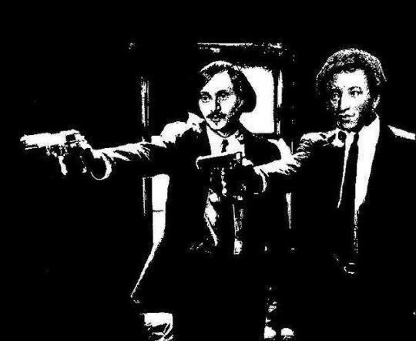 Гоголь и Пушкин VS Криминальное чтиво