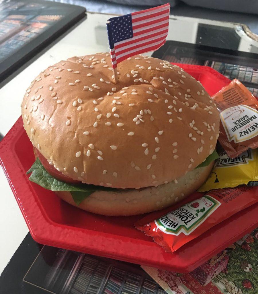 Американский гамбургер и его приметы