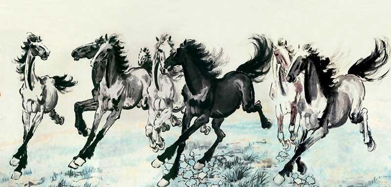 Восемь лошадей
