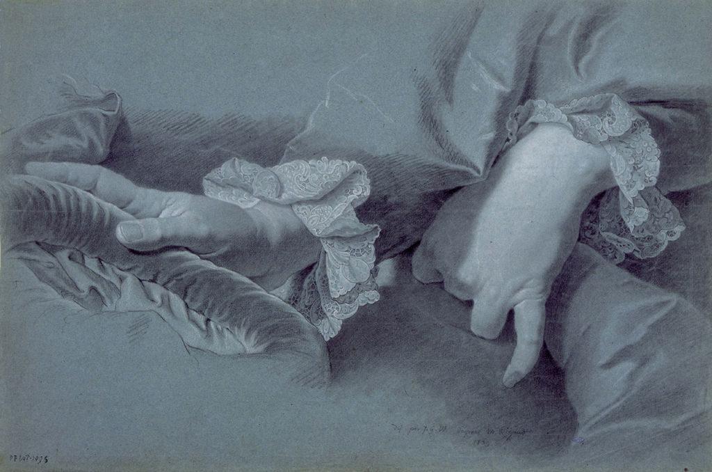 Этюд к портрету Филиппа-Людвига Венцель фон Зинзендорфа