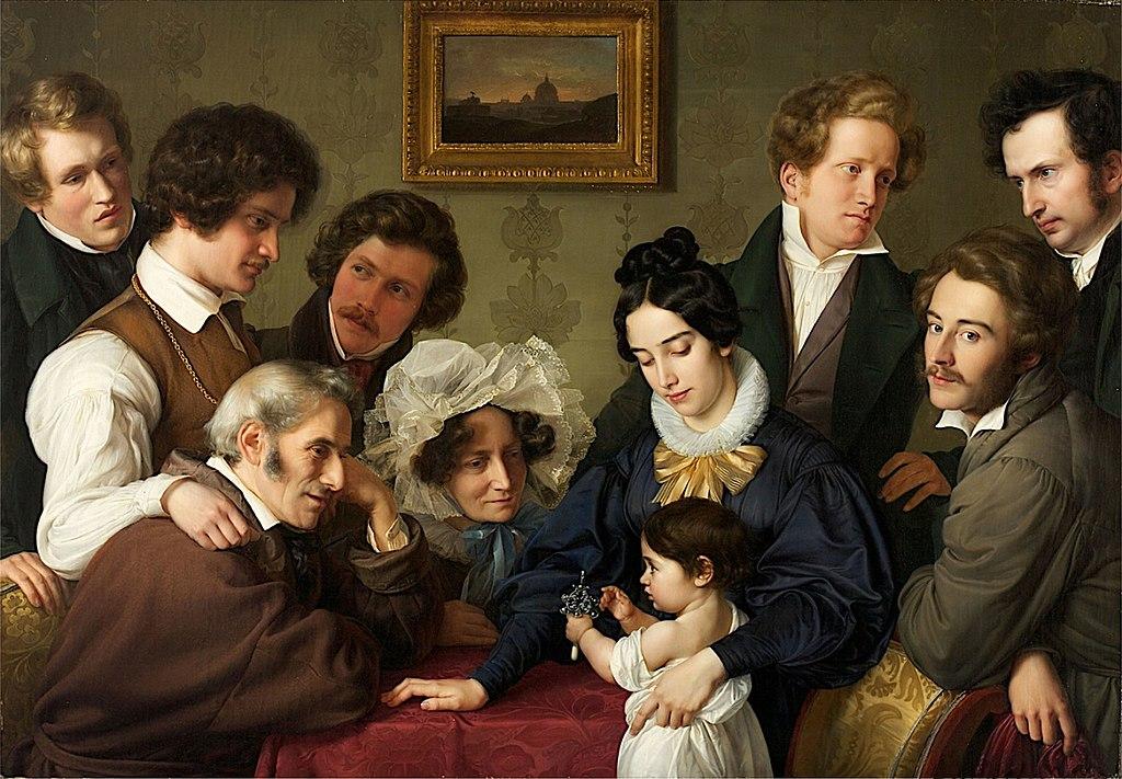 Семья Бендемана и их друзья