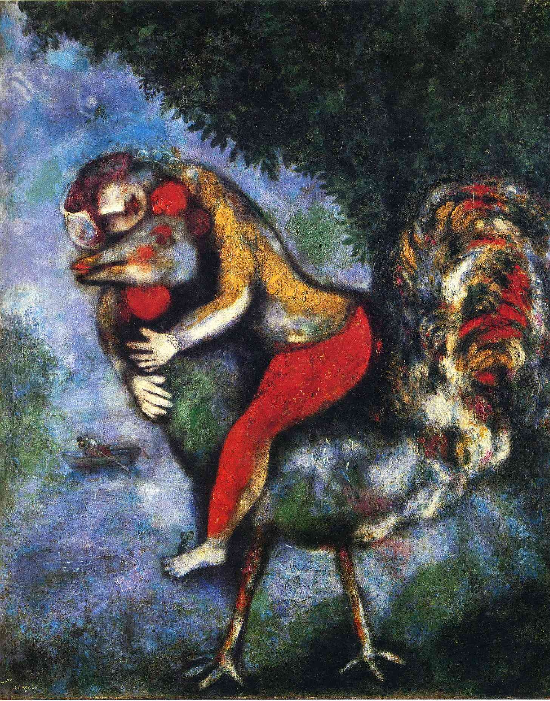 Марк Шагал / «Петух» / 1929