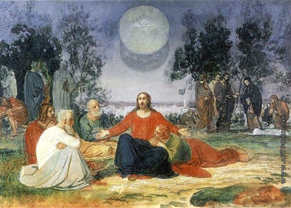 Проповедь Христа на горе Елеонской о втором пришествии
