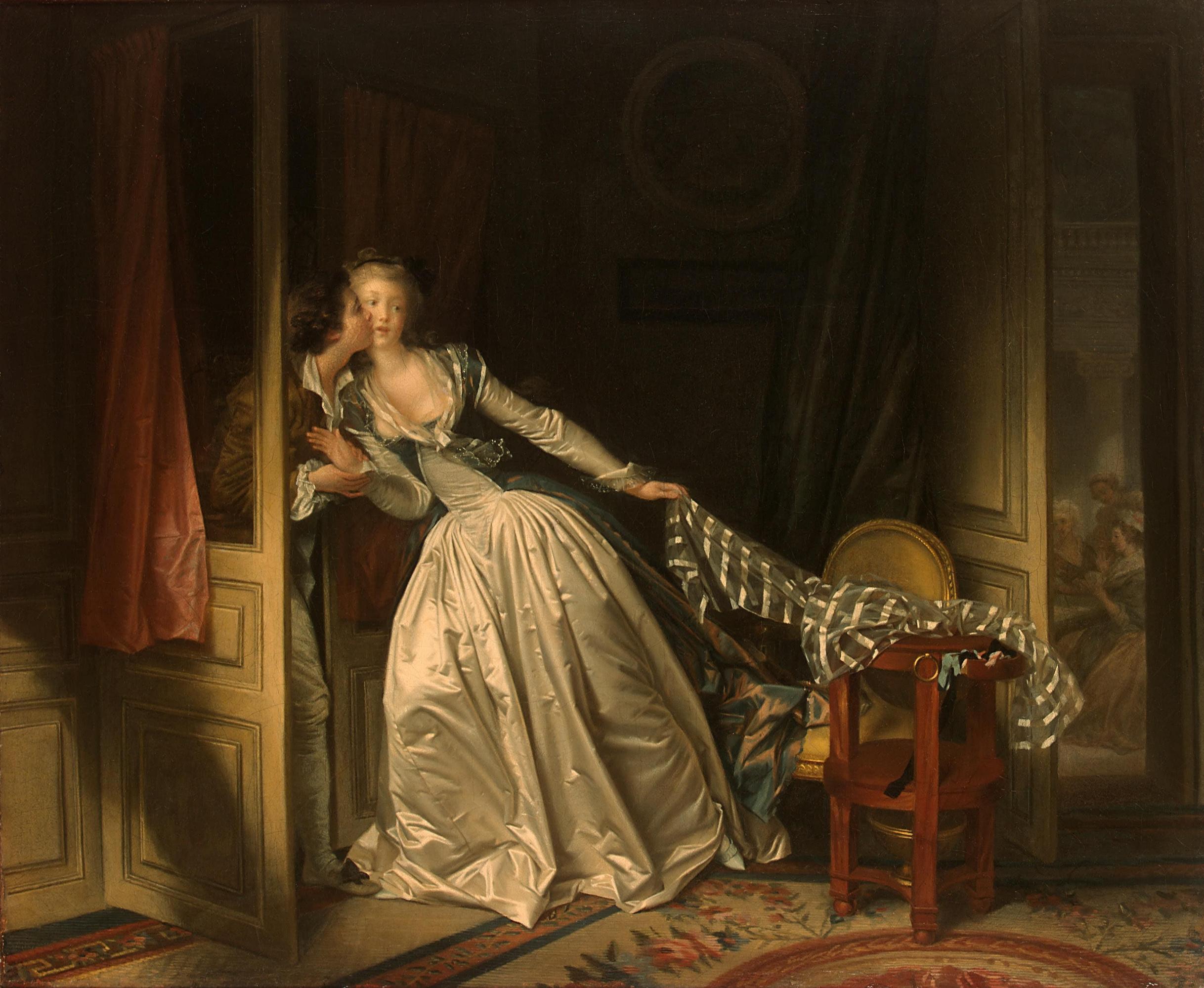 Жан Оноре Фрагонар / «Поцелуй украдкой» / 1780