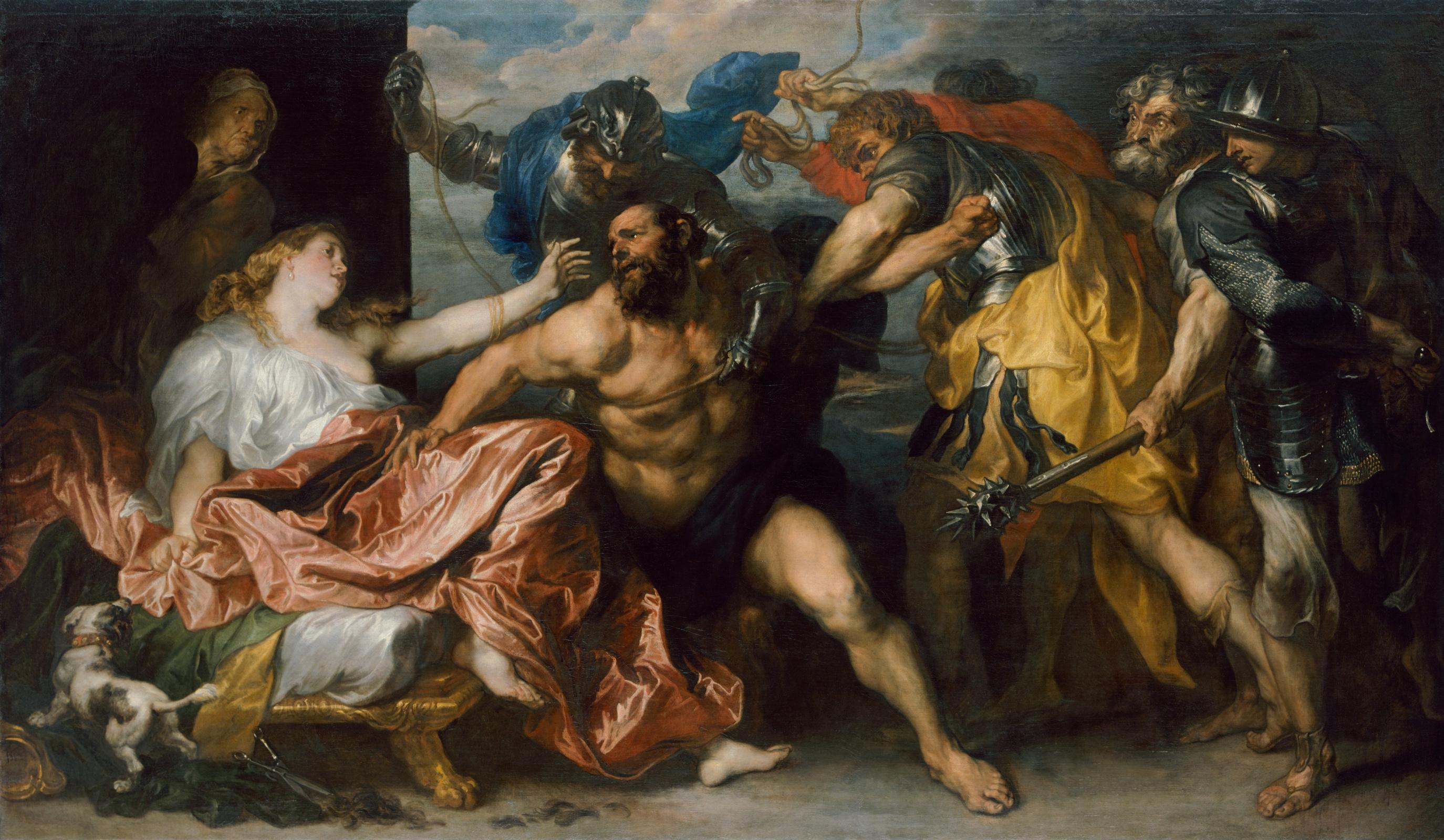 Антонис ван Дейк / «Самсон и Далила» / 1630