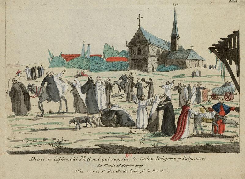 Неверные своим клятвам католические монахини и монахи