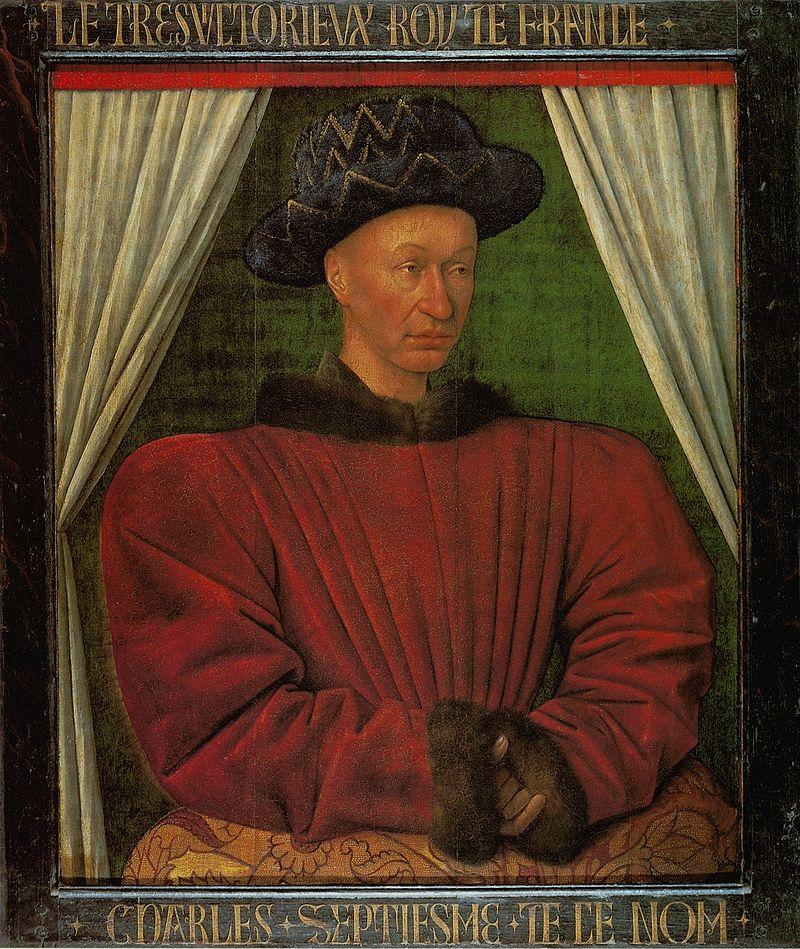 Жан Фуке / «Карл VII Победитель» / 1450