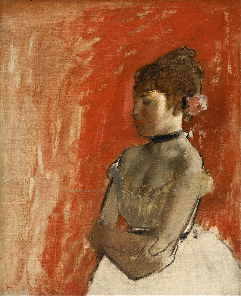 художник Эдгар ДЕГА (1834-1917) / «Балерина со скрещенными руками»