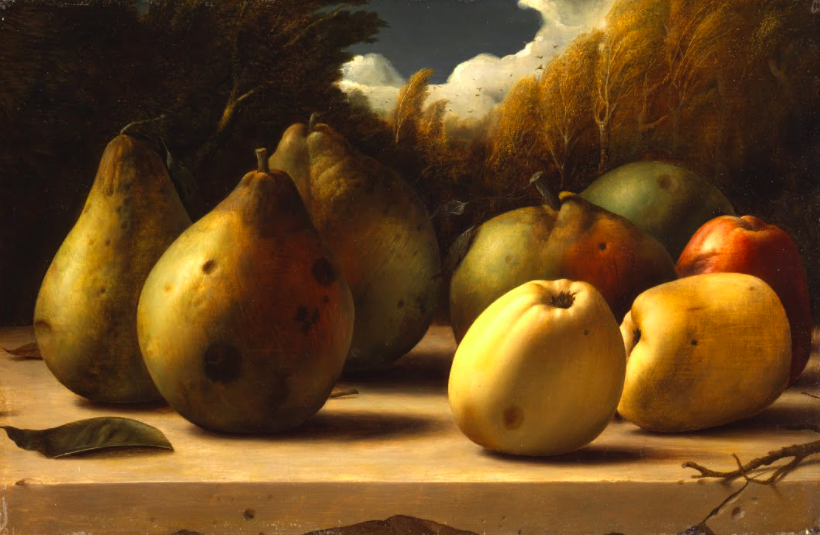 художник Пейке КОХ (1901-1991) / «Натюрморт с яблоками и грушами»