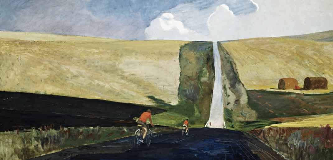 Александр Дейнека / «Дорога на юг» / 1930