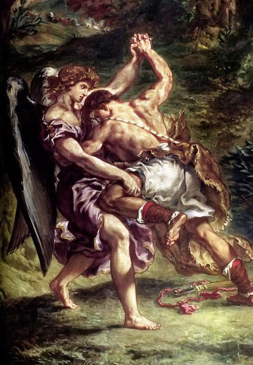 Борьба Иакова с ангелом