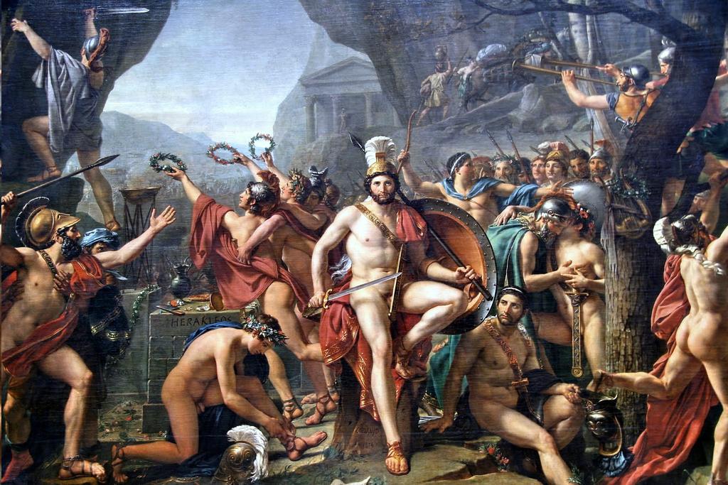 Леонид при Фермопилах