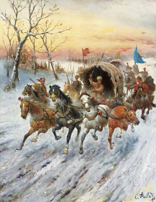 Золотой конвой в Сибири