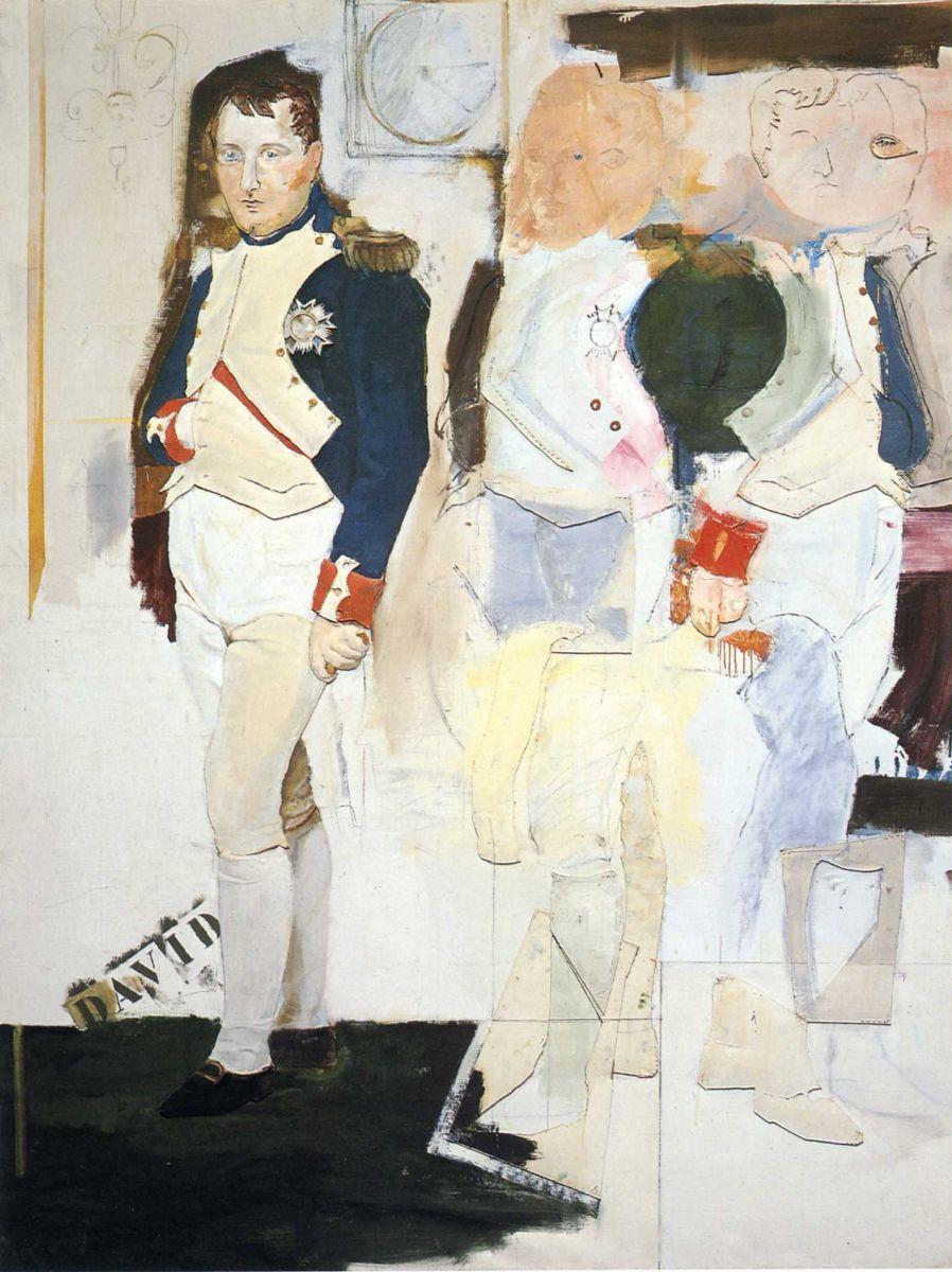 художник Ларри РИВЕРС (1923-2002) / «Сюжет 31»