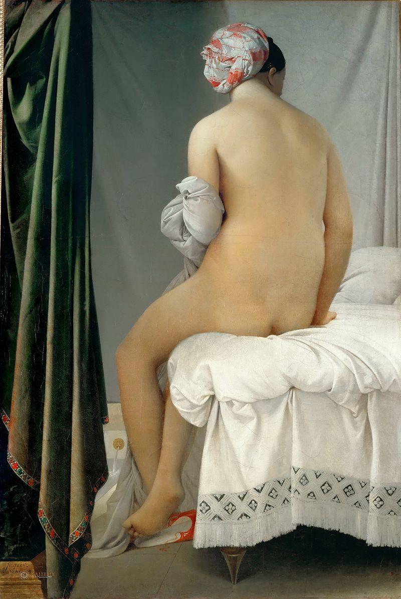 художник Жан Огюст Доминик ЭНГР (1780-1867) / «Купальщица Вальпинсона»
