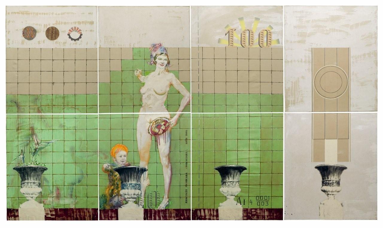 художник Олег ТИСТОЛ (1960) / «Проект украинских денег - Роксолана»