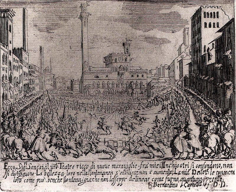 Палио, раунд 1632 года