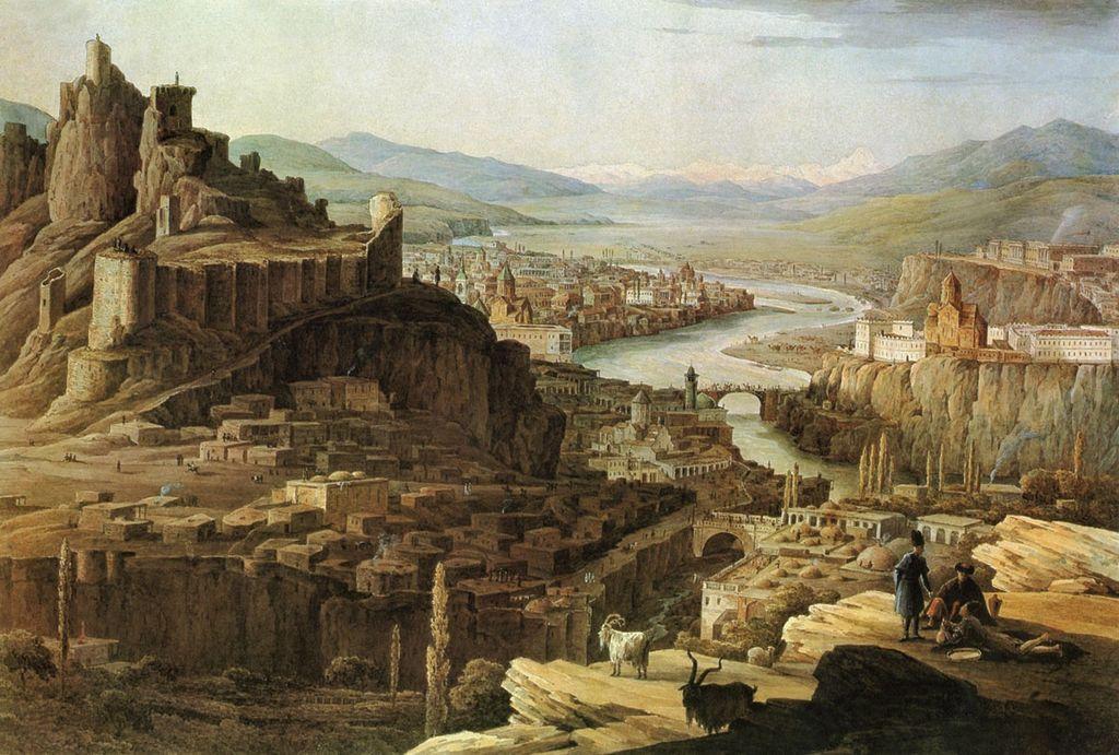 художник Никанор ЧЕРНЕЦОВ (1804-1879) / «Вид на Тифлис»