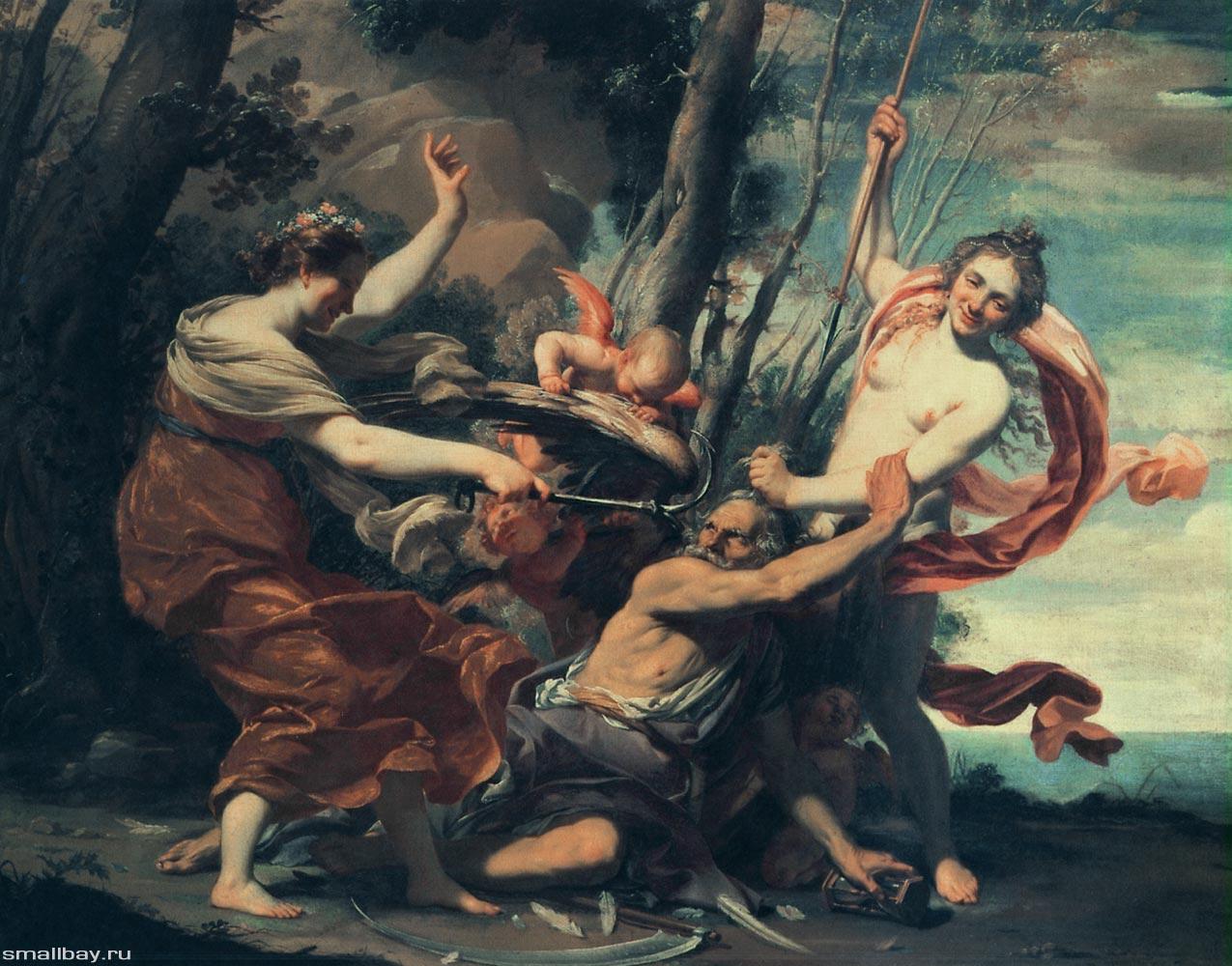 Симон Вуэ / «Время, побеждаемое Надеждой, Любовью и Красотой» /1627