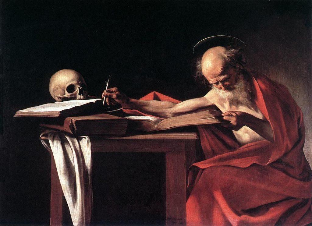 Караваджо, / «Святой Иероним» / 1606