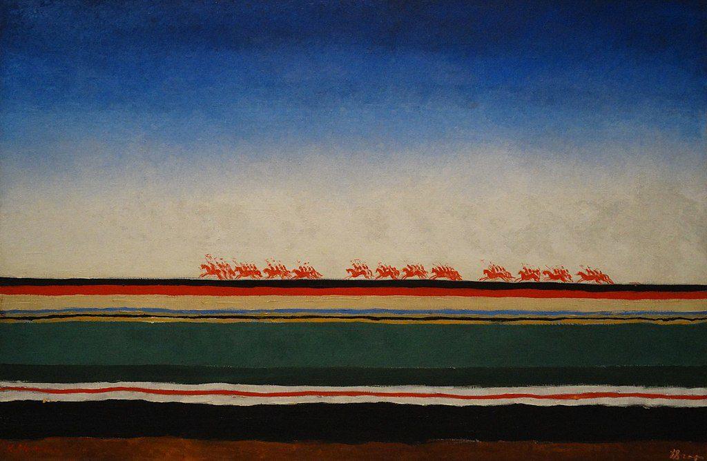 Казимир Малевич / «Скачет красная конница» / 1928