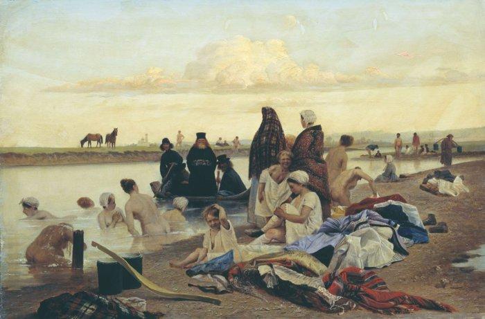 Лев Соловьев / «Монахи. Не туда заехали» / 1870