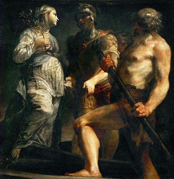 Джузеппе Мария Креспи / «Эней, Сибилла и Харон» / около 1695-1705