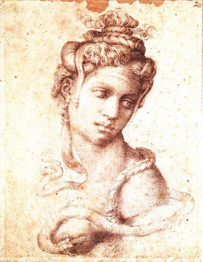 Микеланджело Буонарроти / «Клеопатра» / 1534