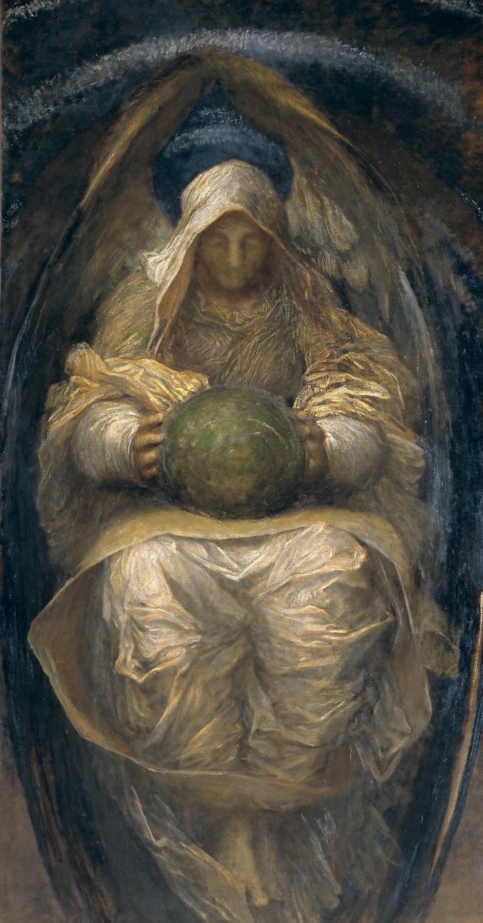 Джордж Фредерик Уоттс / «Всепроникающий Дух Вселенной» / 1890