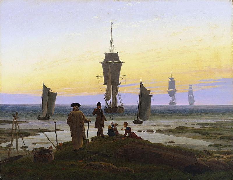 художник Каспар Давид ФРИДРИХ (1774-1840) / «Этапы жизни»