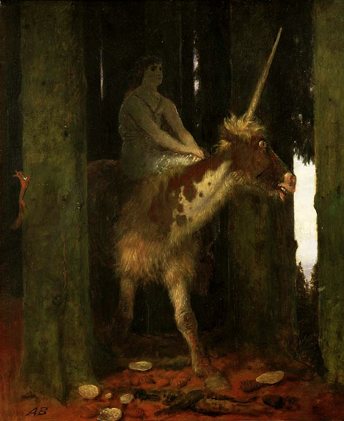 Арнольд Бёклин / «Тишина леса» / 1885