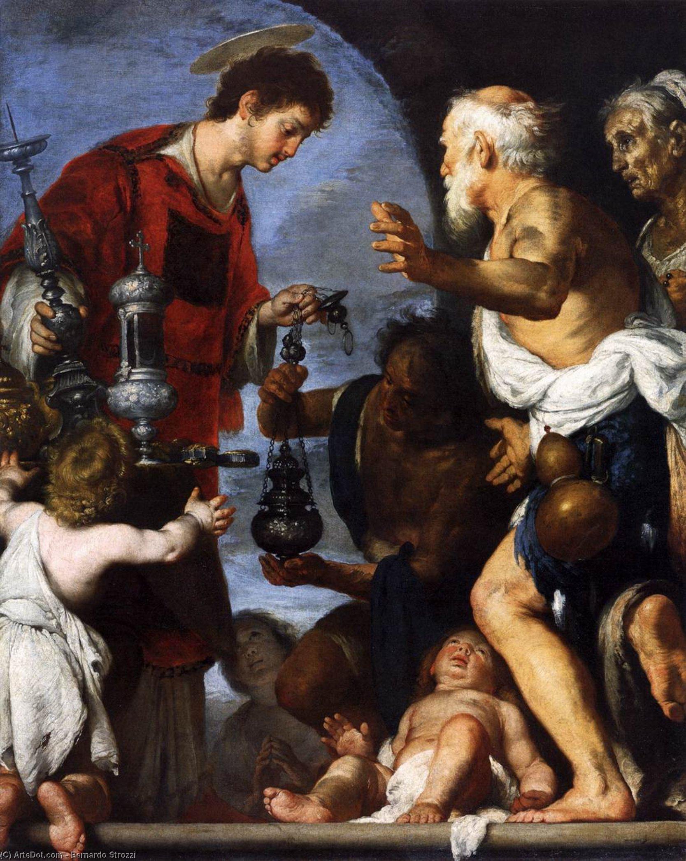 Бернардо Строцци / «Благотворительность Святого Лаврентия» / 1640