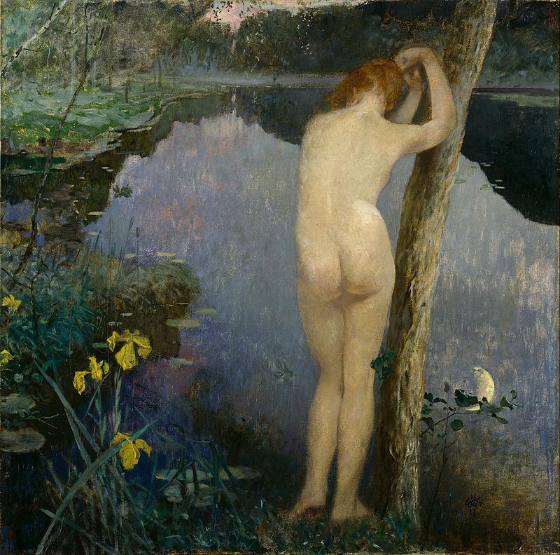 художник Эйлиф ПЕТЕРССЕН (1852-1928) / «Nocturne»