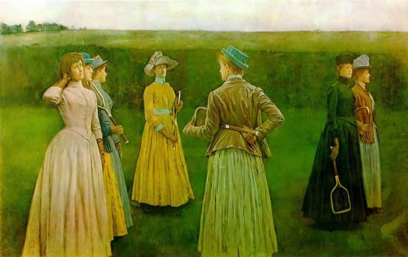 художник / искусствовед Фернан КНОПФ (1858-1921) / «Воспоминания»