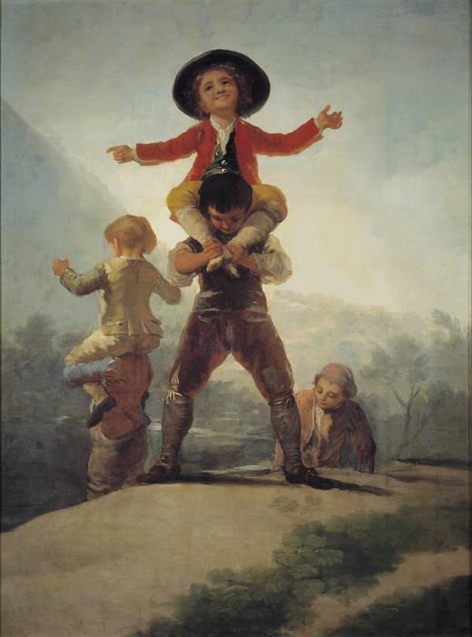 Франсиско Гойя / «Великаны» / 1792
