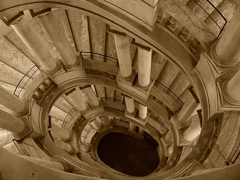 архитектор Франческо БОРРОМИНИ (1599-1667) / «Лестница Палаццо Барберини»