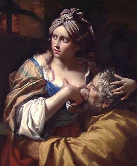 художник Лоренцо ПАЗИНЕЛЛИ (1629-1700 )/ «Римское милосердие»