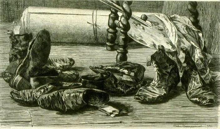 художник Жюль Фердинан ЖАКМАР (1837-1880) / «Воспоминания о путешествии»