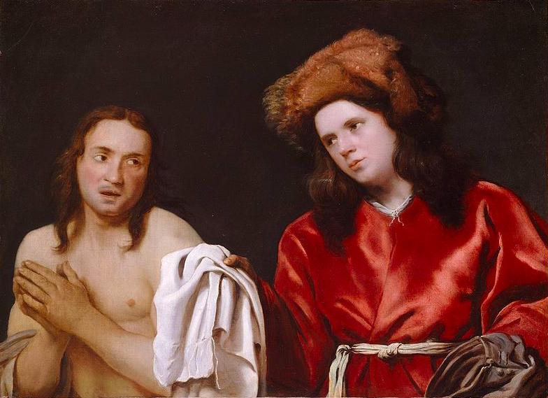 художник Михаэль СВЕРТС (1618-1664) / «Нагой и одетый»