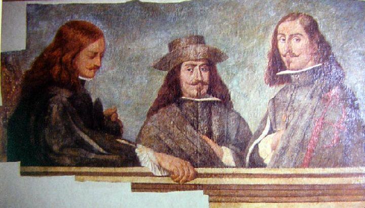 художник Николас де ВИЛЬЯСИС (1616-1694) / «Портрет трех друзей»