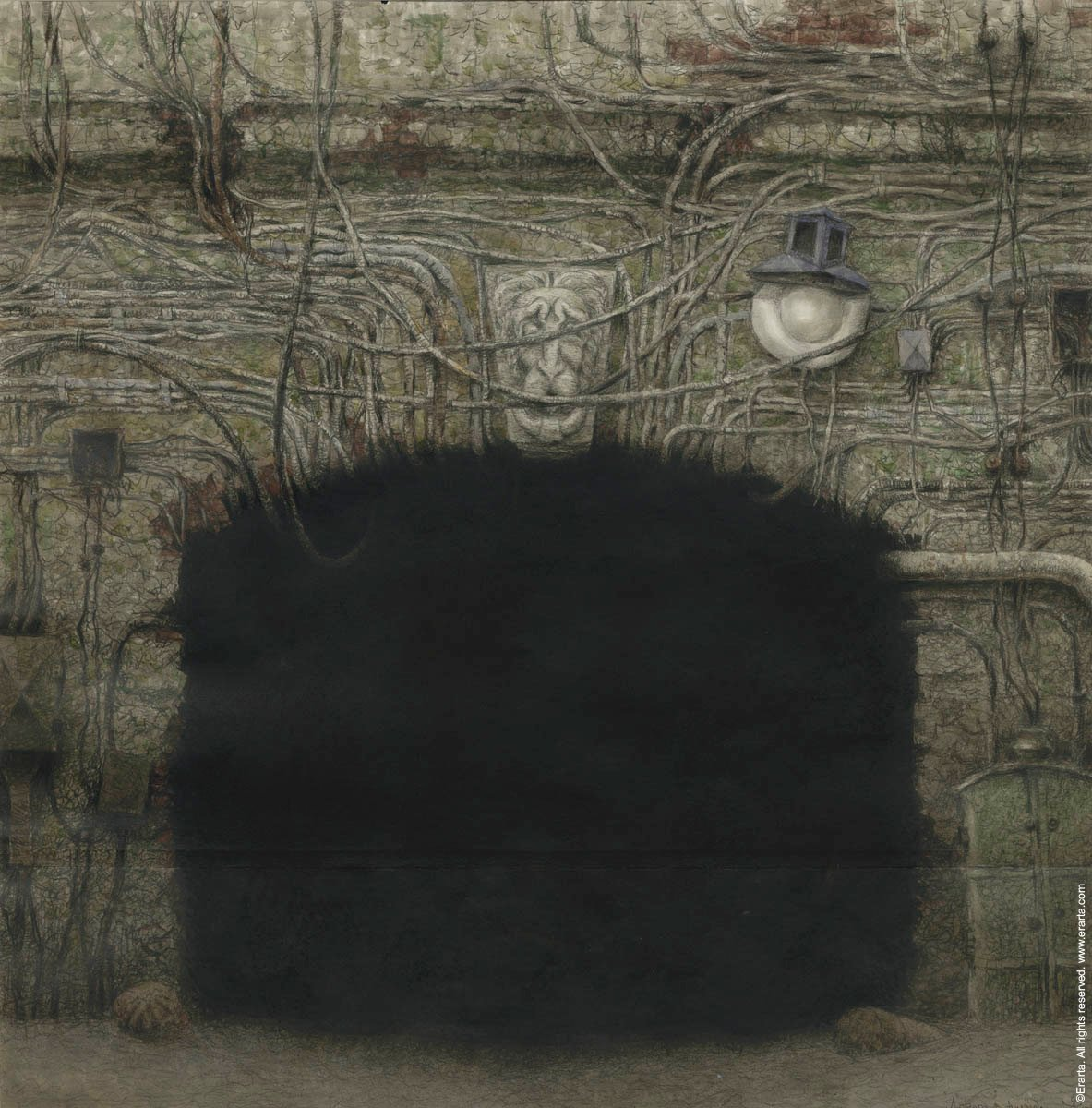 художник Евгений УХНАЛЁВ (1931-2015) / «Дорога в никуда»