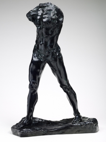 Огюст Роден / «Шагающий человек» / 1877