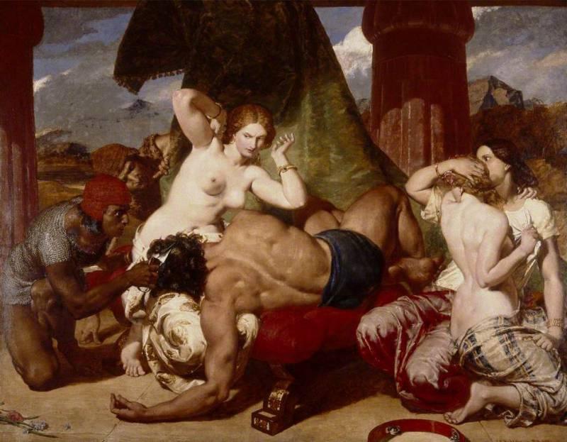 художник Фредерик Ричард ПИКЕРСГИЛЛ (1820-1900) / «Самсон Преданный»