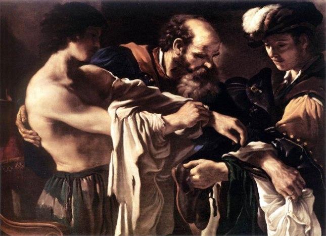 Франческо Гверчино / «Возвращение блудного сына» / 1619