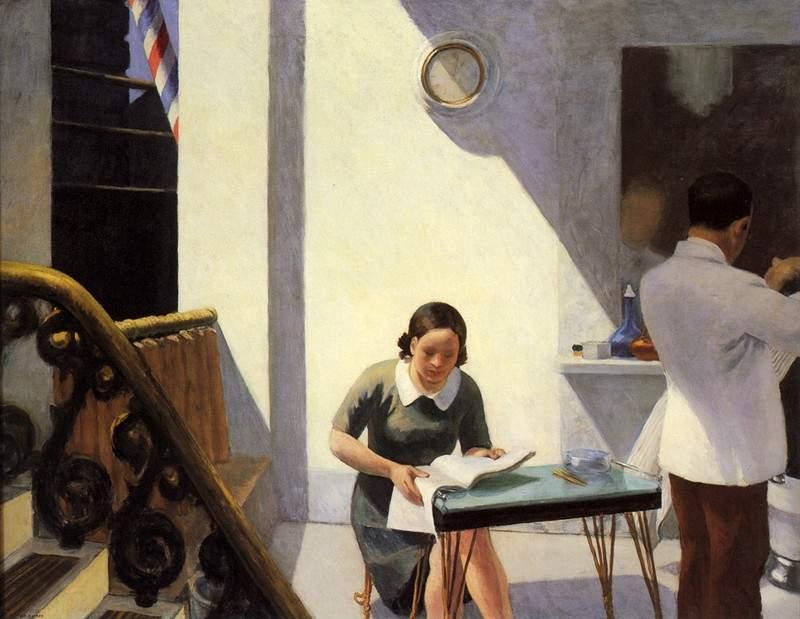 Эдвард Хоппер / «The Barber Shop» / 1931