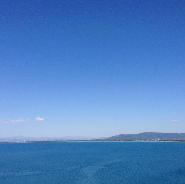 вид на Тирренское море