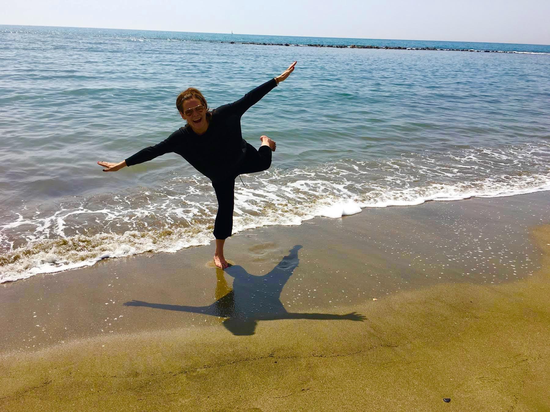 На пляже Остии